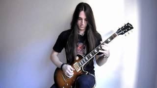Arch Enemy - Bury Me An Angel Cover (Solo) Garrett Peters