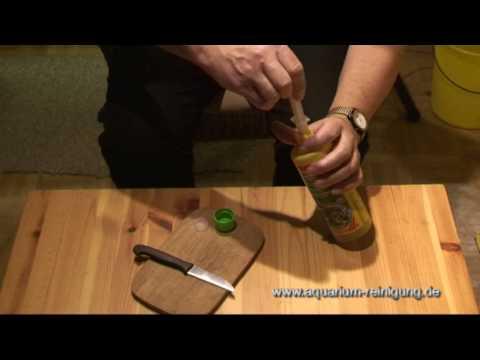Aquarienpflanzen duengen - mit Flüssigdünger