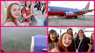 My First International Flight! Flying to Punta Cana - Dominican Republic _ Travel Day Vlog!