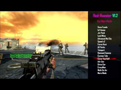 BO2/1 19/XBOX/PC/PS3} Red-Rooster V1 2 GSC MoD Menu - игровое видео