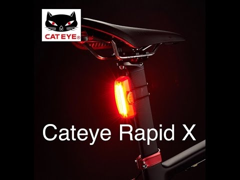 Cateye Rapid X 25 Lumens Test Light 2017