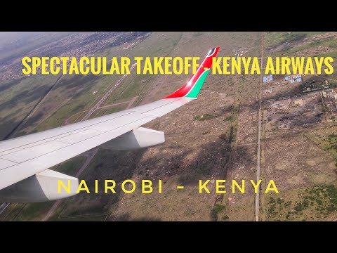 Landing in Nairobi Jomo Kenyatta airport