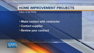 Call 4 Action: Home Improvement Projects