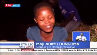 Wakazi wa kaunti ya Bungoma walazimika kukesha mtoni ili kuteka maji