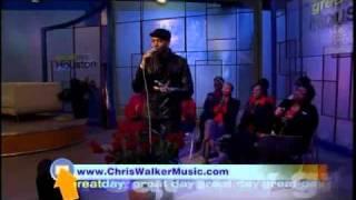 "Chris Walker - Perfoming ""I Got That Love"" on Great Day Houston"
