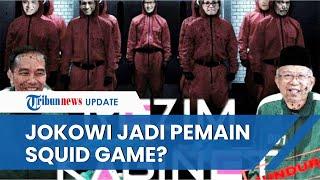 Jokowi, Maruf Amin hingga Luhut Pandjaitan Jadi Pemain Squid Game? Ini Penjelasan Pema USU