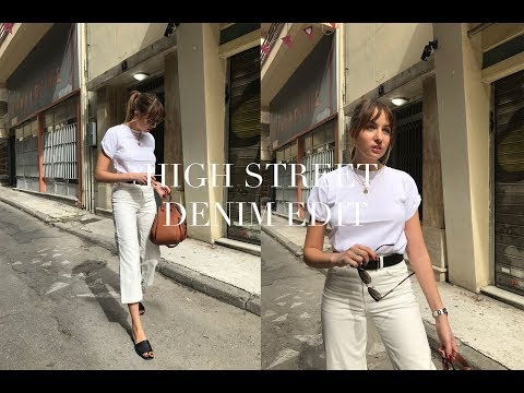Highstreet Denim Edit | Topshop | AD