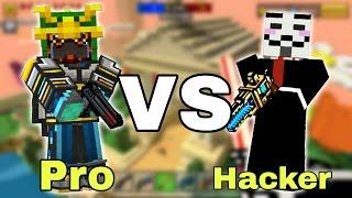Hacker vs Pro - Pixel Gun 3D