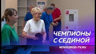 Новгородские пенсионеры завершили ежегодную спартакиаду