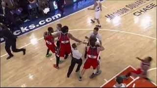 John Wall vs Quincy Acy Fight on ☆(Christmas Day)☆