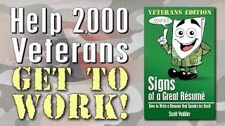 Signs of a Great Résumé: Veterans Edition - Indiegogo Campaign Video