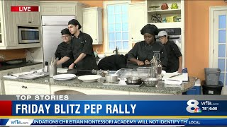 Leto High School culinary team cooks for The Blitz