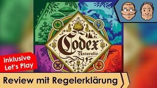 Codex Naturalis – Brettspiel – Review und Regelerklärung
