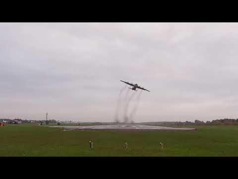 Полеты экипажей Ан-12 и Ан-26 на малой и предельно малой высотах видео