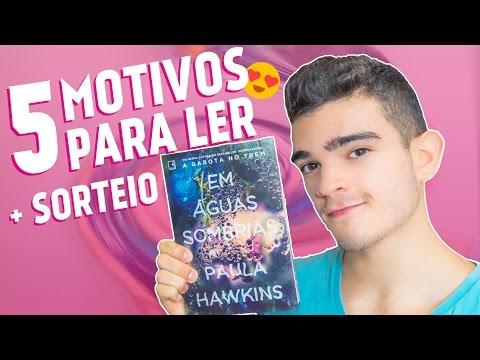 Em Águas Sombrias, de Paula Hawkins + SORTEIO - 5 Motivos Para Ler
