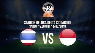 Live Streaming Indosiar dan Vidio.com Piala AFF U-19, Thailand Vs Indonesia Pukul 15.30 WIB