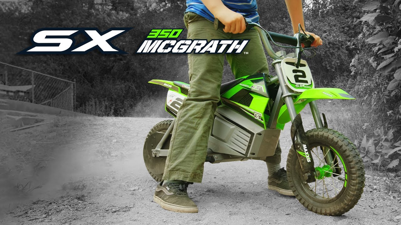 Razor SX350 McGrath Ride Video
