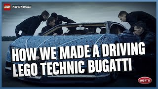 See how it was made - The Amazing Life-Size LEGO Technic version of the Bugatti Chiron