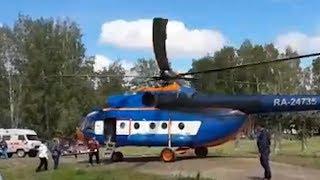 Томские медики эвакуируют пострадавших при ДТП с рейсовым автобусом