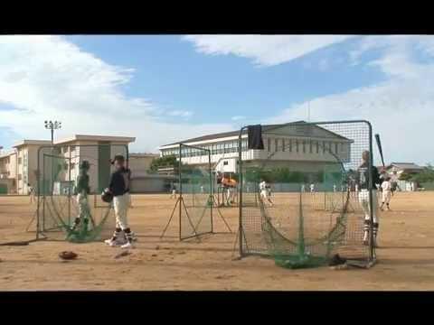 根上中学校野球部練習風景 2016.07.16