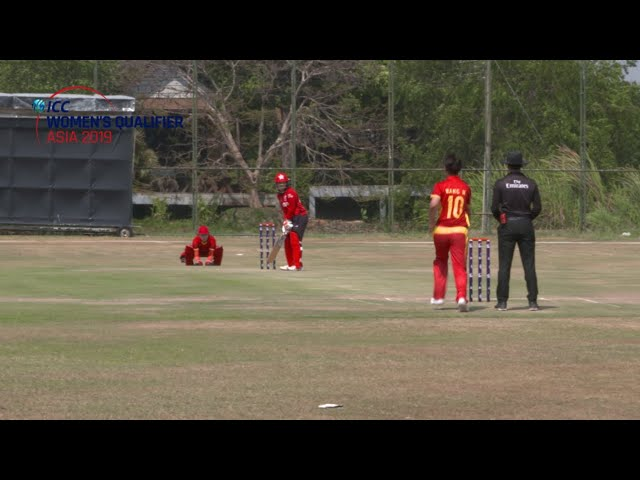 ICC Women's Qualifier - Asia 2019 | Hong Kong v China highlights
