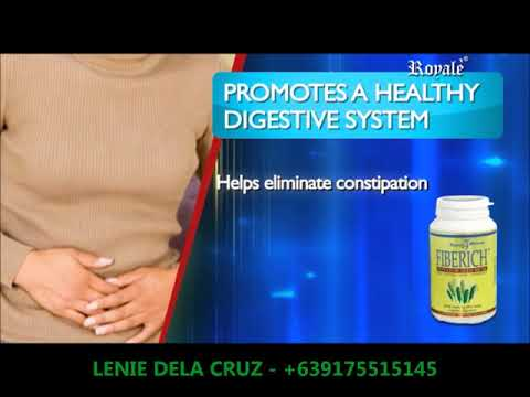 ROYALE WELLNESS FIBERICH/ HEALTHY DIGESTIVE SYSTEM/ FREE FROM CONSTIPATION