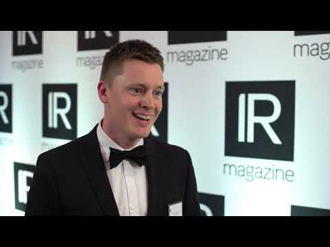 Valmet talks multimedia at the IR Magazine Awards – Europe 2019