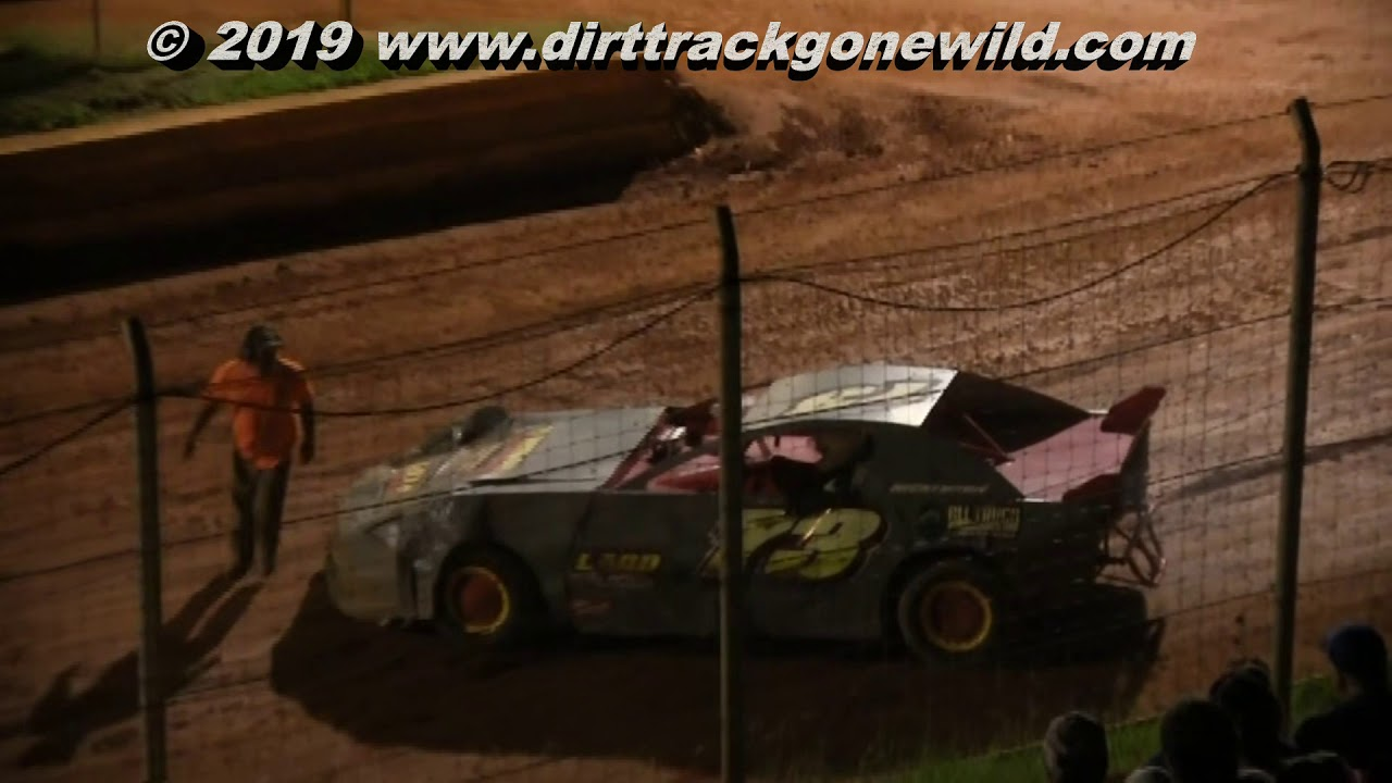 Modified Street Main at Toccoa Raceway August 3rd 2019