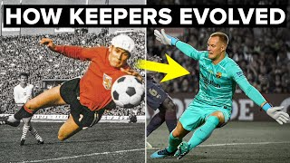 HOW GOALKEEPERS HAVE EVOLVED from 1871-2020