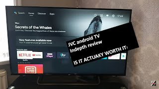 JVC android TV (Review part 2)