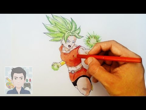 Dibujando A Kale De Dragon Ball Super Drawing Kale From Dragon Ball