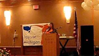 Lebanese-Americans rally for Tayyar Michigan, with Free Patriotic Movement, April 2009