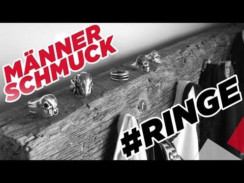 Männer Schmuck - Meine Top 5 Ringe | Marc Eggers