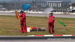 preview picture of video 'Rotax Euro Challenge 2010 A1 Speedworld Austria Bruck'