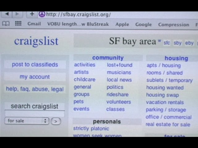 What Does Sd Mean On Craigslist