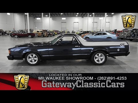 Video of '79 Ranchero located in Kenosha Wisconsin - $16,995.00 Offered by Gateway Classic Cars - Milwaukee - M6QW