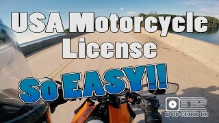 Motorcycle Licenses in the USA