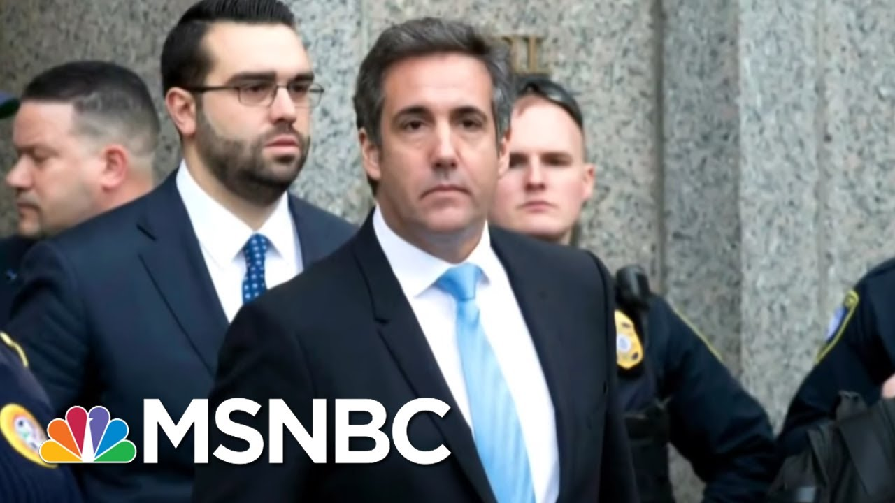 White House Dodges Questions On Michael Cohen Pay-To-Play Allegations   The 11th Hour   MSNBC thumbnail