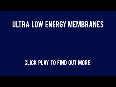 Ultra Low Energy Membranes Commercial Reverse Osmosis Membranes