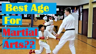 What Age should Children start Doing Martial Arts