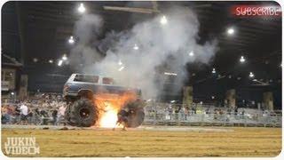 Monster Truck Tug O War Explosion