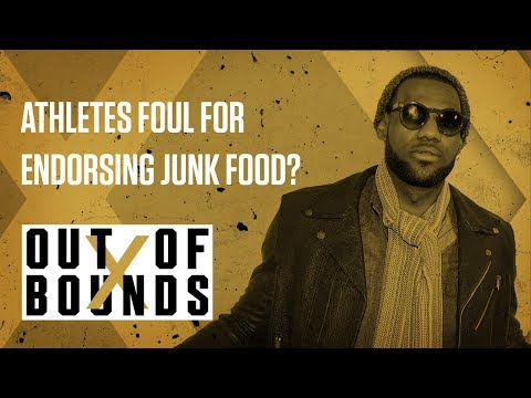 Athletes Foul for Endorsing Junk Food? | Out of Bounds
