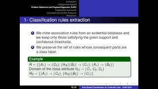 Rule-Based Classification for Evidential Data-Nassim Bahri, Mohamed Anis Bach Tobji and Boutheina Ben Yaghlane