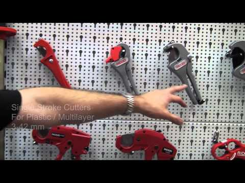 Tubing Cutters for Plastic and Multilayer