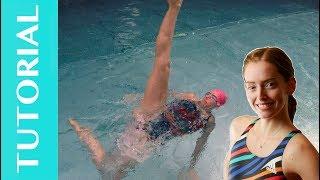 Artistic Swimming Tutorial: #2  Windmill turn