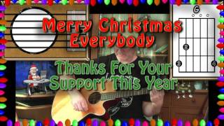 We Wish You A Merry Christmas - Acoustic Guitar Lesson (easy-ish)