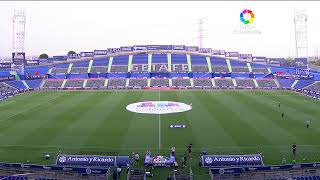 Calentamiento Getafe CF vs Villarreal CF