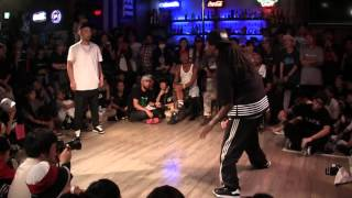 CANDOO vs ICEE @ HIPHOP FOREVER JAPAN 2015 SEMI-FINAL