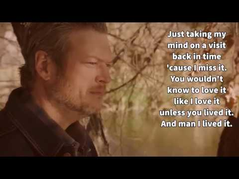 Blake Shelton-I Lived It-Lyrics Mp3