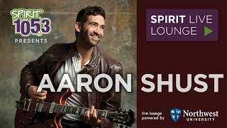 Aaron Shust - SPIRIT Live Lounge at SPIRIT 105.3 FM